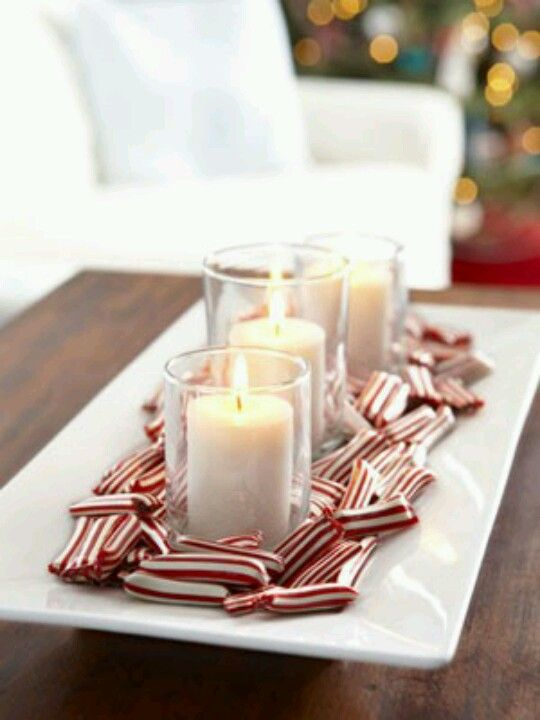 Table scape for Christmas