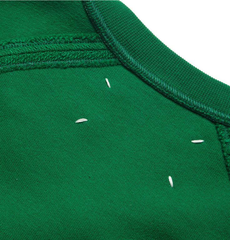 Maison Martin Margiela - Loopback Cotton-Jersey Sweatshirt | MR PORTER