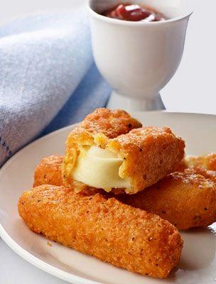 Sütőben sült rántott sajt | femina.hu