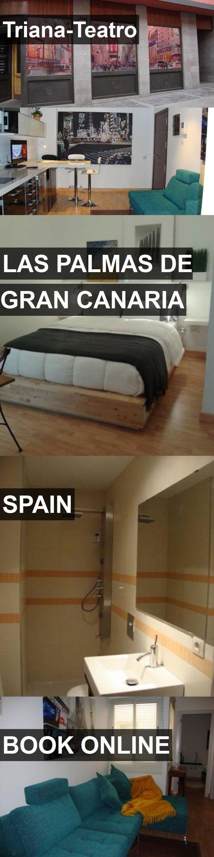 Hotel Triana-Teatro in Las Palmas de Gran Canaria, Spain. For more information, photos, reviews and best prices please follow the link. #Spain #LasPalmasdeGranCanaria #hotel #travel #vacation
