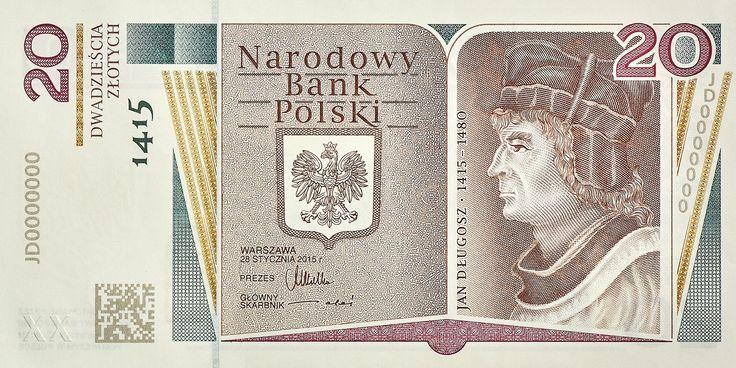 Narodowy Bank Polski wyemitował kolejny już banknot kolekcjonerski tym razem o nominale 20 zł. Banknot zostaje wprowadzony do obiegu 24 sierpnia 2015 r. Po raz pierwszy na tym banknocie został zastosowany kod 2D.  czytaj więcej... http://www.nbp.pl/home.aspx… Jak Wam się podoba?