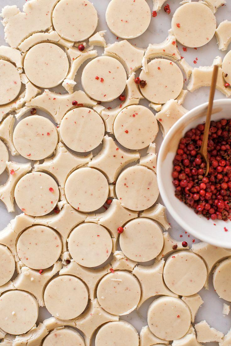 Pink Peppercorn Shortbread Cookies | Now, Forager | Teresa Floyd
