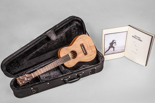 Eddie Vedder Autographed Ukulele Deluxe Edition Songbook and U s Tour Tickets | eBay
