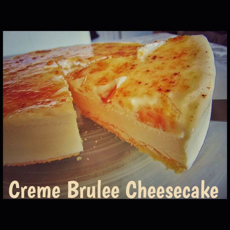 Crème Brûlée Cheesecake (Thermomix Method Only) « Mother Hubbard's Cupboard