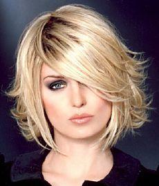 Из салона - Женские причёски для волос средней длины, средние стрижки для женщин - фото - Категория: Средняя длина - Файл: Женская причёска для волос средней длины