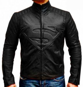Model Jaket Kulit Super Hero Superman; Kode: A-030
