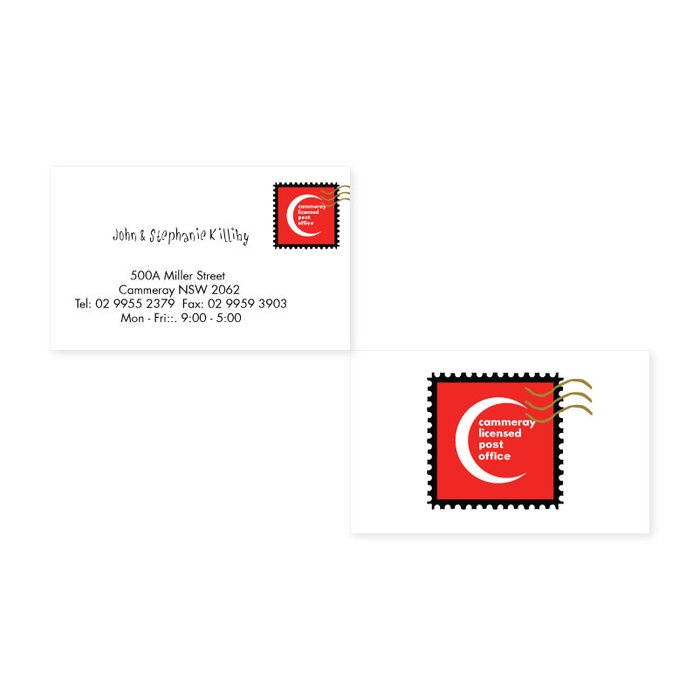 42 best our business cards images on pinterest business business cards designed for cammeray post office colourmoves