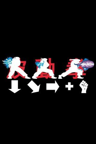 Street Fighter Haduken Android Wallpaper HD