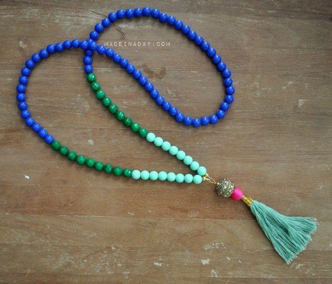 Make Your Own Tassel Necklace: 25+ Unique Tassel Necklace Ideas On Pinterest