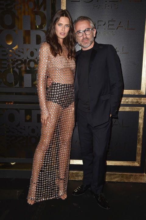 Bianca Balti and Cyril Chapuy