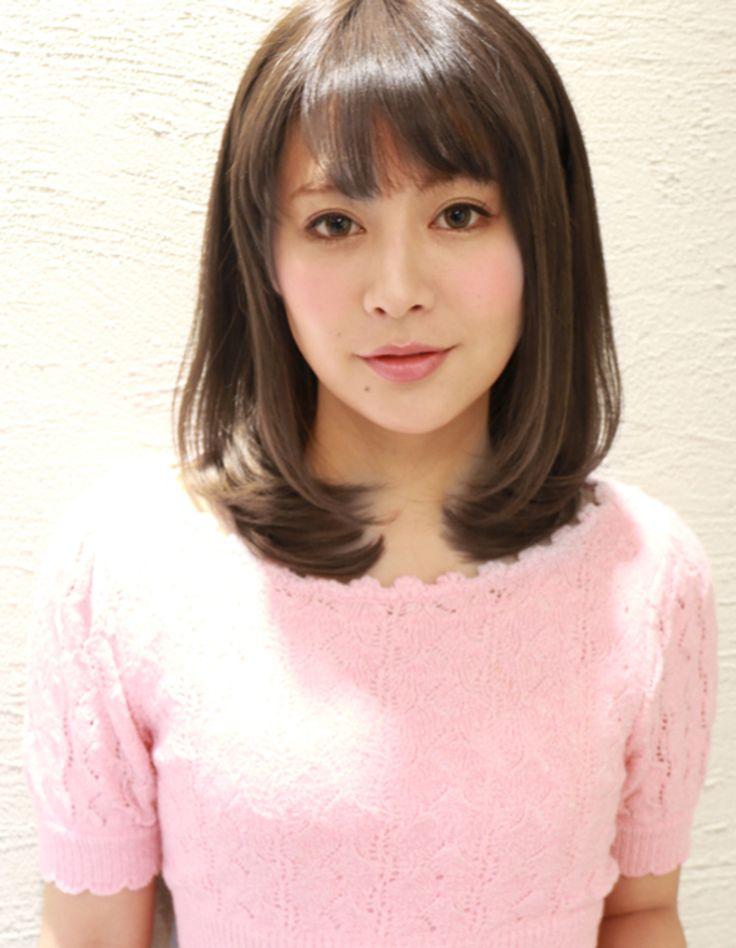 大人かわいいミセス暗髪ロブ(HI-259) | ヘアカタログ・髪型・ヘアスタイル|AFLOAT(アフロート)表参道・銀座・名古屋の美容室・美容院