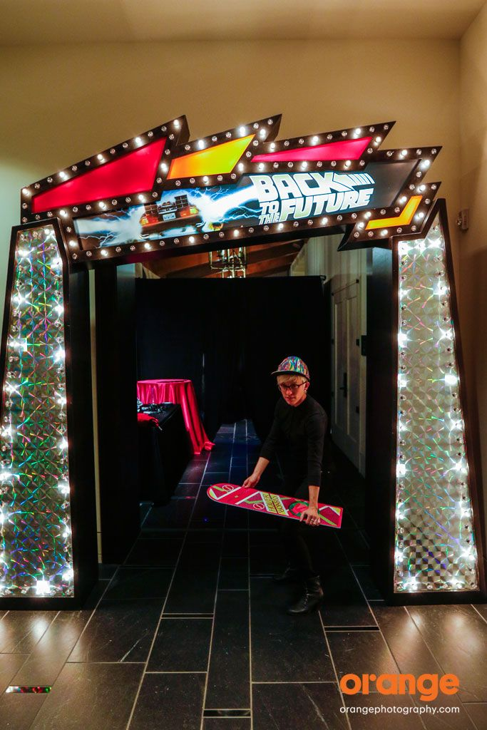 Orange Photography - Back to the Future themed parties are THE hot trend for 2015!