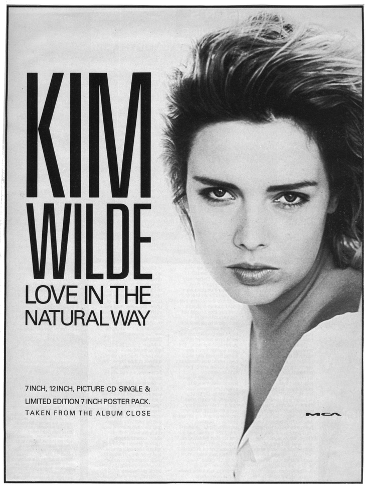 'Love in the natural way' UK advert, 1989