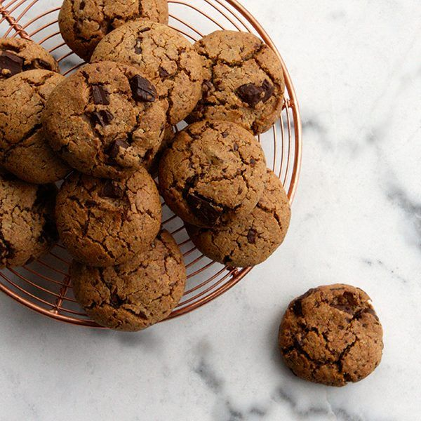 Wholefood Choc Chip Cookies