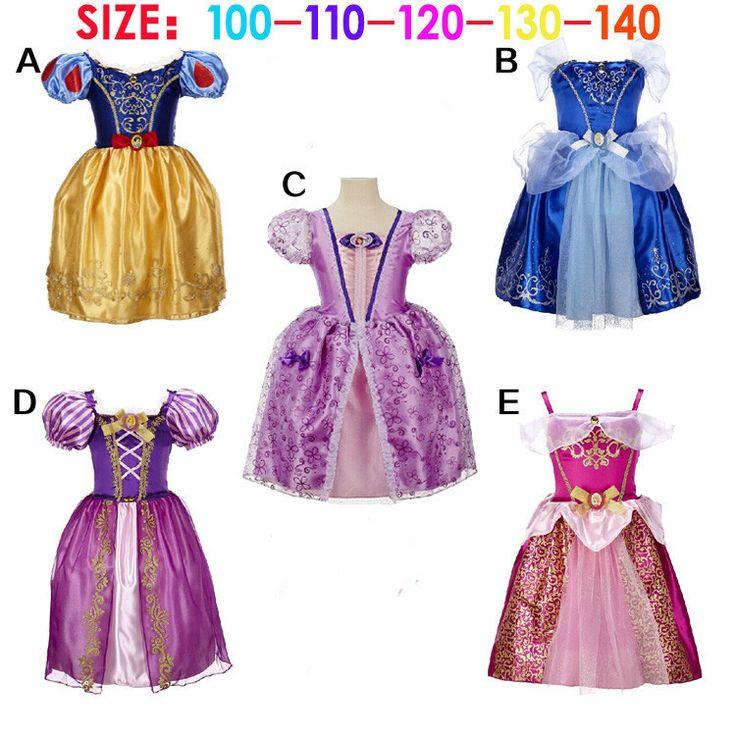 De princesa dress costume girls lindo pel 237 cula party girl dress