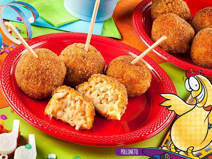 Paletas de pollo con queso