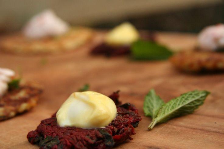 Root Vegetable Latkes for Chanuka | adornos fiestas religiosas | Pint ...