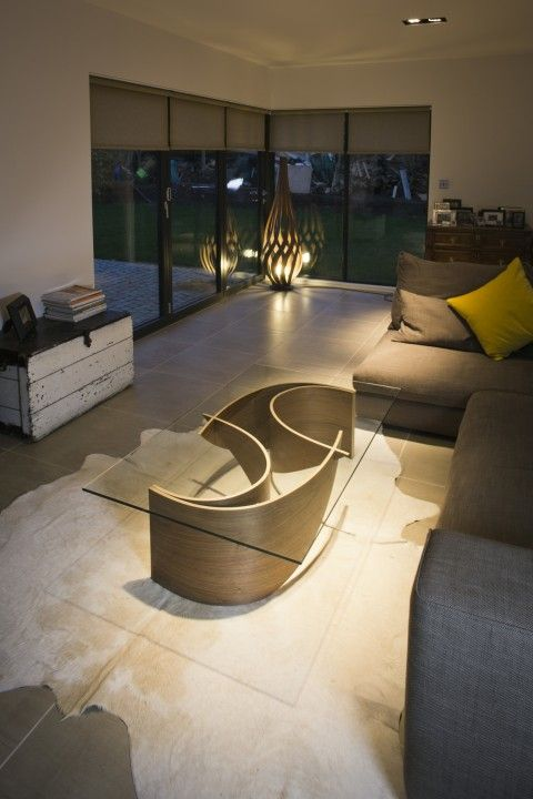 The Wave Coffee Table Is A Project By Alex MacMaster From...   UPVISUALLY