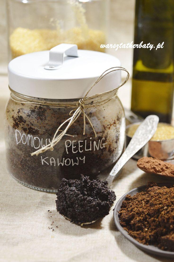 Peeling Kawowy, naturalne kosmetyki zrób to sam - kawa http://warsztatherbaty.pl/content/34-domowy-peeling-kawowy