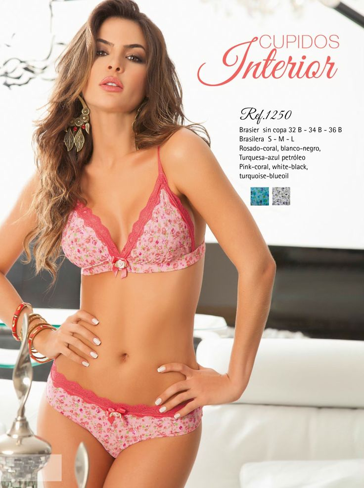 17 best images about lencer a ropa interior femenina on pinterest sexy colors and swimwear - Moda ropa interior femenina ...