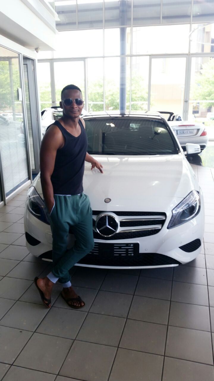Congratulations to Nhlanhla Jali on his new Mercedes Benz A200 BE. We wish you all the best with your new white beast!!  This could be you...But you ain't calling us.  031 201 1422 & let us handle your finance, secure your car & get you the most competitive insurance quote.  Any Car | Any Bank | Any Place