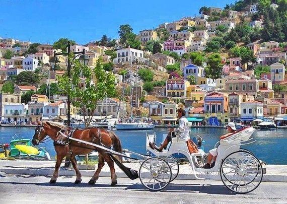 Symi Island , GREECE