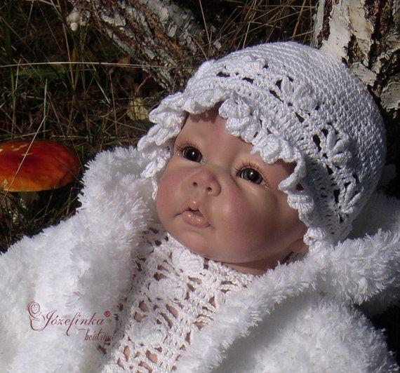 Baby Hats in handmade,Baby Hats for girls,Baby Hat Crochet,Baby Hat,Hat for Baby Girl,Christening Hats,Crochet Girl Hat,