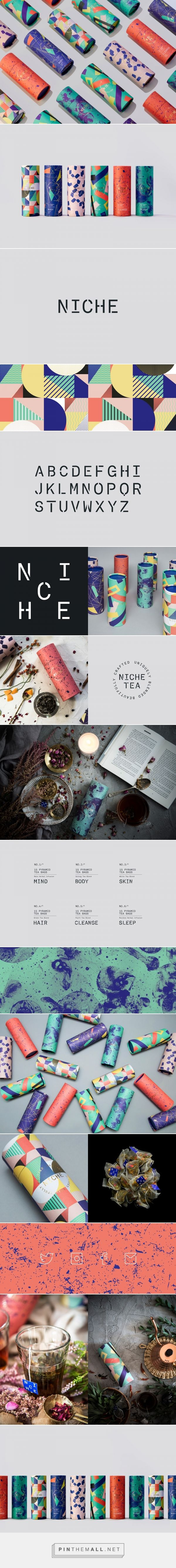 Niche Tea packaging design by IWANT design - http://www.packagingoftheworld.com/2017/03/niche-tea.html