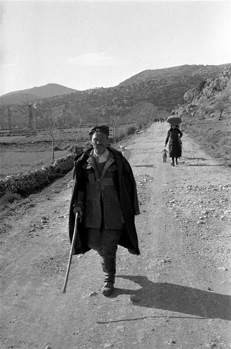Erich Lessing - Crete. Greece. 1955.