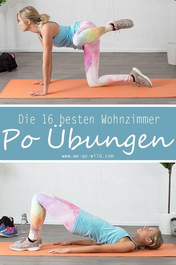 16 Po Übungen, die dein Leben verändern: Das Knackpo Workout – Silvia Neumann