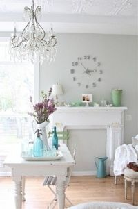 "Benjamin Moore 'Bunny Grey"" is one of my top picks for the bathroom color."