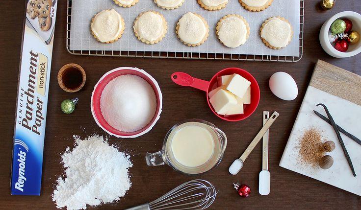 ... Desserts on Pinterest | Eggnog cheesecake, Egg nog and Eggnog pie