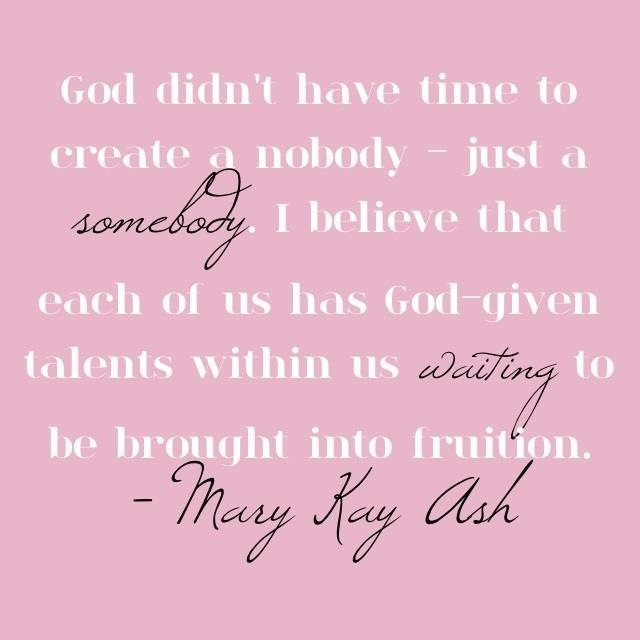 Mary Kay Ash http://www.marykay.com/maryannswaney