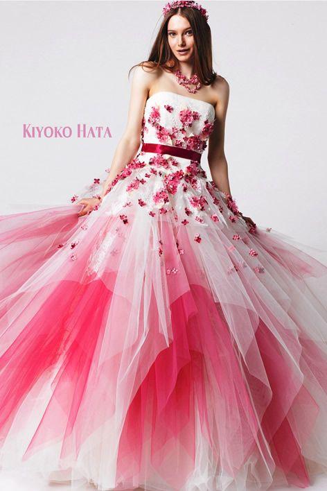 カラードレス | ブライダル衣裳 | 三松屋-bridal house MIMATSUYA