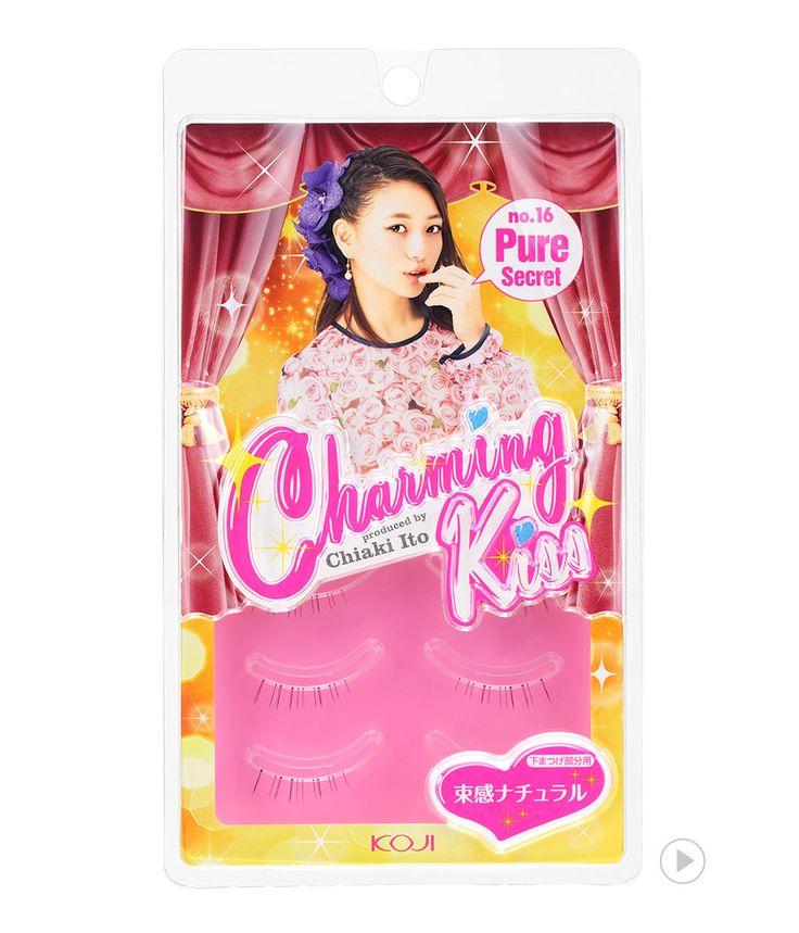 Charming Kiss Eyelash No.16 Pure Secret  챠밍키스 아이래쉬 No.16 퓨어 시크릿
