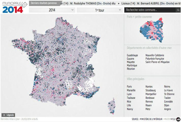 Résultats municipales 2014 - Le Point