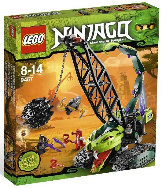 LEGO Ninjago Sets   LEGO Ninjago 9457 9456 9455 Sets