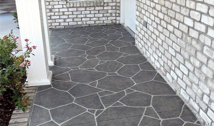 Concrete Porch Floor Covering Ideas Here is where to be