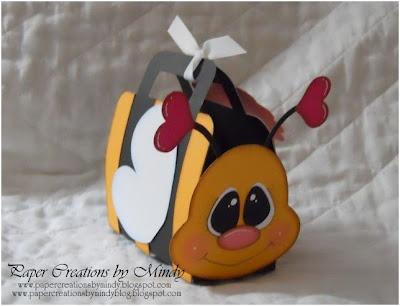 treat box - Absolutely adorable - using Stampin'Up's! Curvy Keepsake Box...