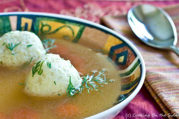 Post image for Matzo Ball Soup