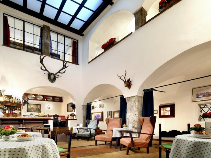 "Dating to 1407 – and renovated in 2010 – this hotel is ""in the heart of the Old Town,"" near the cathedral, museums, and Mozart's birthplace Overall score: 94.3 See full rating information for Hotel Goldener Hirsch (Luxury Collection), Salzburg"