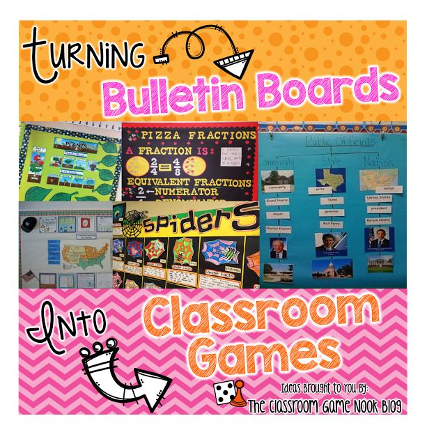 Do something more with your bulletin boards- engage your kiddos!