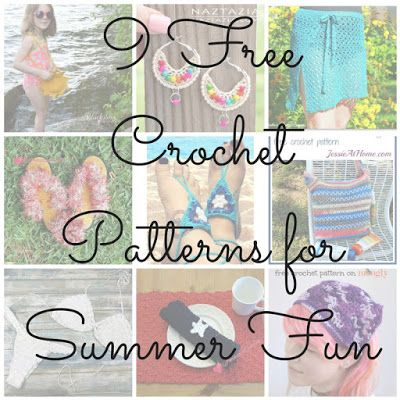 CGOA Now!: 9 Free Crochet Patterns for Summer Fun