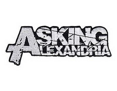 """Asking alexandria embroidered iron on sew on #metalcore badge #patch #4.6""""x1"""",  View more on the LINK: http://www.zeppy.io/product/gb/2/252279681329/"""