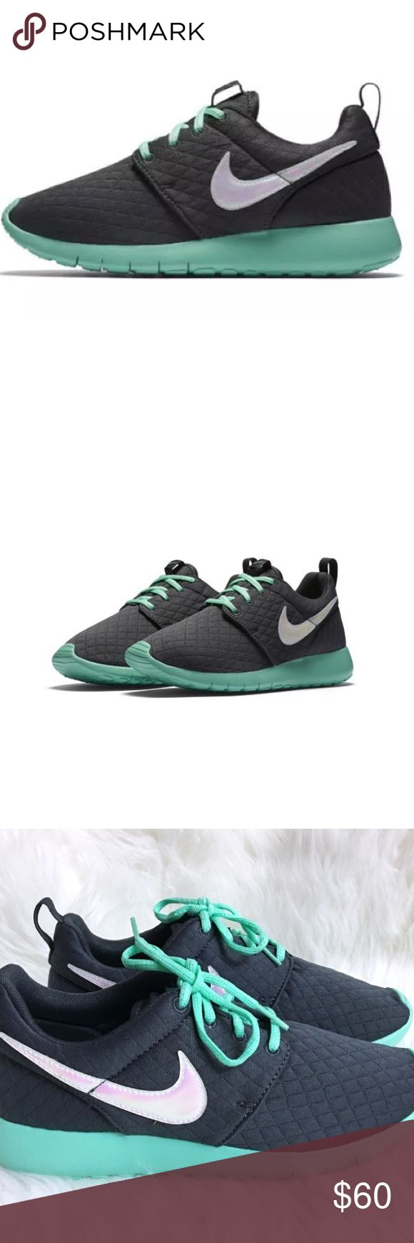 NIKE ROSHE ONE SE WOMENS SHOES SIZE 7.5 GRAY Brand new without box. Size 6 youth which is a women's size 7.5. I have added a sizing chart for your Convenience. Nike Shoes Sneakers