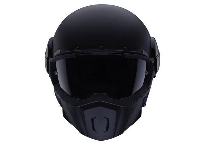 The Caberg Ghost Matt Black Helmet finish on this particular helmet gives it a particularly serious look. Any individual wearing this helmet, however poor