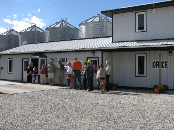 Great #KFA Round the County tour.  We were steady with visitors all day.  Approx 280 people stopped by!  #ontag