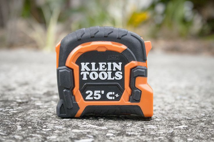 Klein Magnetic Tape Measure Review with Double Hook  All tradesmen need an accurate tape, so we put the Klein Tools 25-Foot Double Hook Magnetic Tape Measure to the test to see if it measured up! #kleintools #tape #measuringtape #measuring #electrician #86225  https://www.protoolreviews.com/tools/hand/measuring-levels/klein-magnetic-tape-measure/29019/