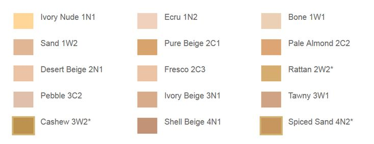 Estee Lauder Double Wear Foundation S Colour Chart I Am In Pebble 3c2 Beauty 2018 Pinterest Makeup And