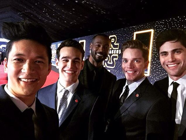 Harry Shum, Jr, Alberto Rosende, Isaiah Mustafa, Dominic Sherwood, and Matthew Daddario